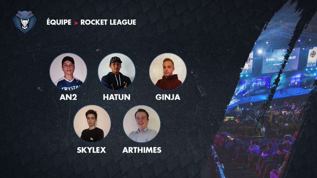Image nouvelle équipe Rocket League
